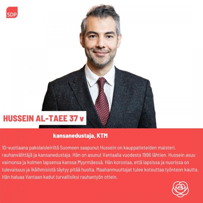 Hussein al-Taee kansanedustaja